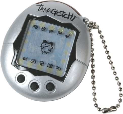 silver tamagotchi