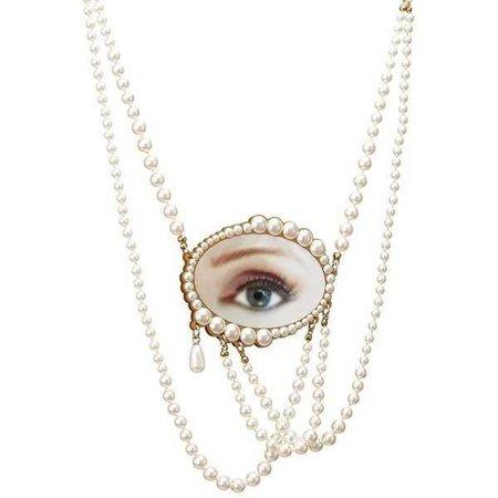 Lover's Eye Statement Necklace ($380)