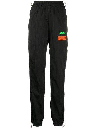 Heron Preston Crinkled-Effect Track Pants Ss20 | Farfetch.com
