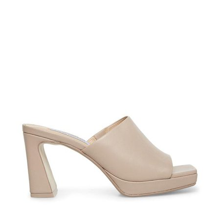 DEDICATE TAUPE LEATHER – Steve Madden