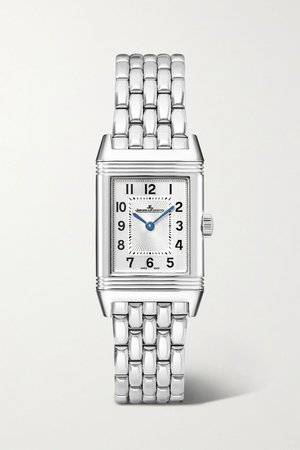 Silver Reverso Classic 21mm small stainless steel watch | Jaeger-LeCoultre | NET-A-PORTER