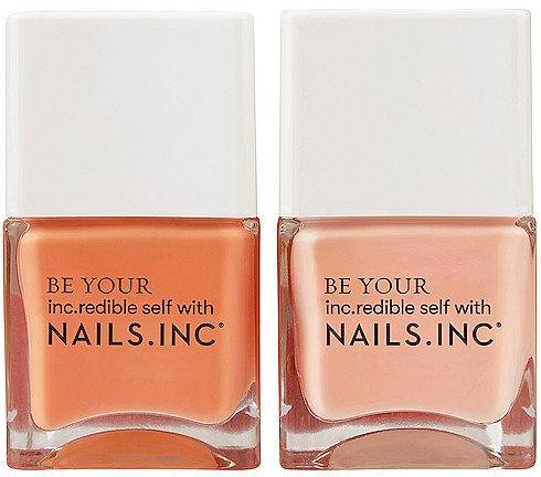 NAILS.INC Kiss My Peach Duo