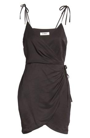 4th & Reckless Strappy Wrap Minidress | Nordstrom