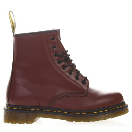 Dr. Martens Cherry Color Leather Army Boots