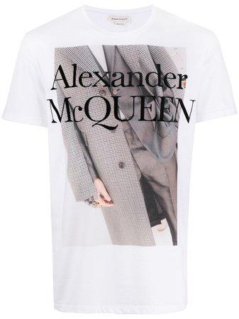 Alexander McQueen t-shirt à Imprimé Graphique - Farfetch