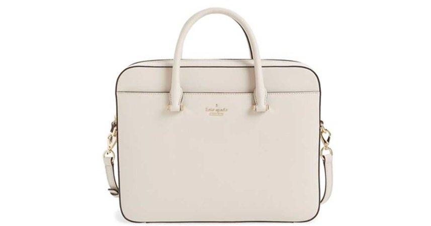 Kate Spade Laptop Bag - White