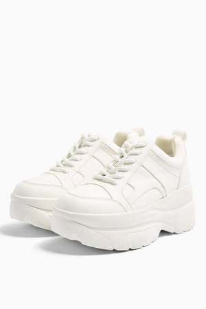 CALI White Chunky Trainers | Topshop
