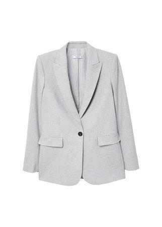 MANGO Flecked blazer