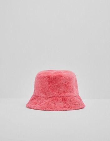 Fuzzy bucket hat - New - Woman   Bershka