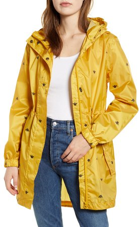 Packable Waterproof Rain Jacket