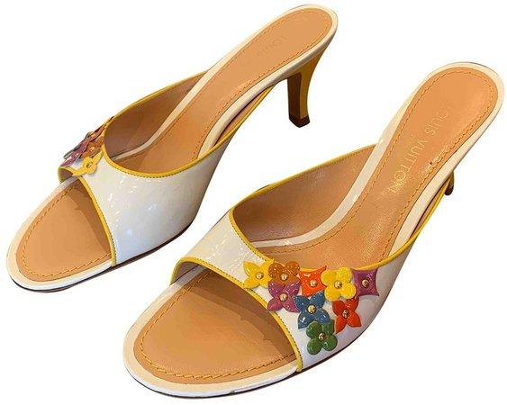 Multicolour Patent leather Sandals