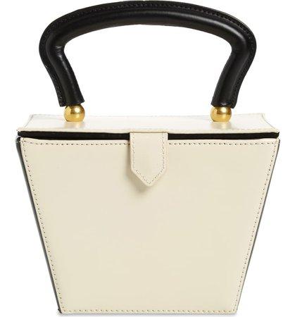 STAUD Mini Sadie Colorblock Leather Bucket Bag   Nordstrom