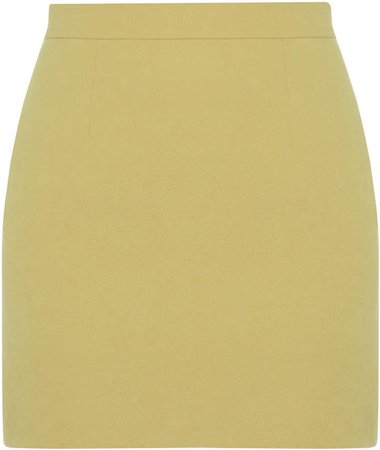 Aleksandre Akhalkatsishvili Cotton Mini Skirt