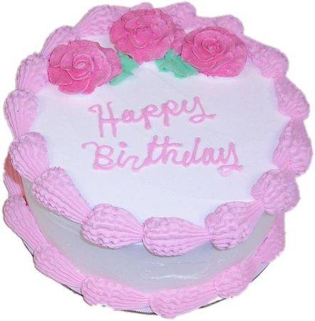 png pink cake