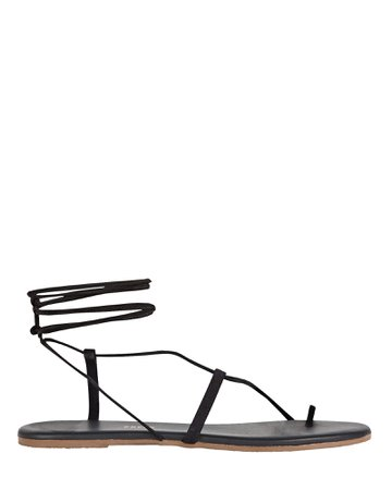 TKEES Jo Leather Lace-Up Sandals   INTERMIX®