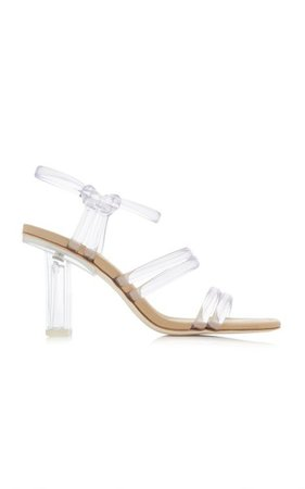 Kayla Pvc Sandals By Cult Gaia   Moda Operandi