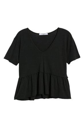 Project Social T Mirage Peplum T-Shirt   Nordstrom