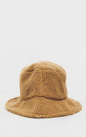 Camel Borg Bucket Hat | Accessories | PrettyLittleThing