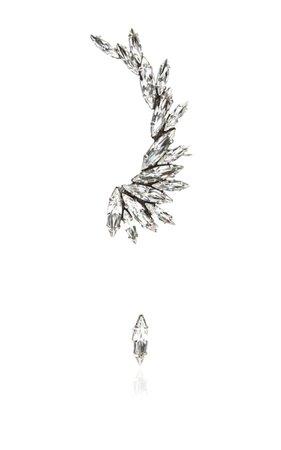 Swarovski Crystal ear cuff