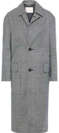 Chester Checked Wool-twill Coat