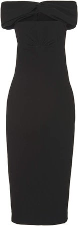 Emilia Wickstead Padma Cutout Cady Dress