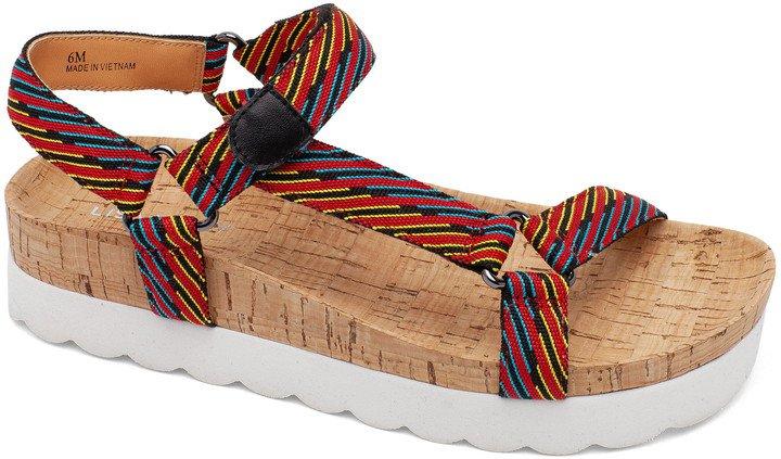 Lisa Vicky Because Cork Platform Sandal
