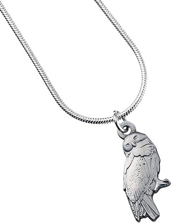 Amazon.com: Official Harry Potter Jewelry Hedwig Owl Necklace: Sports & Outdoors