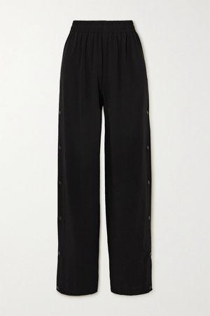 Black Crepe track pants | Balenciaga | NET-A-PORTER