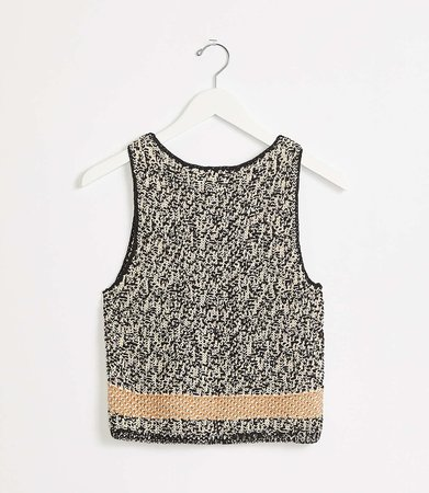 Shoreline Sweater Tank | Lou & Grey