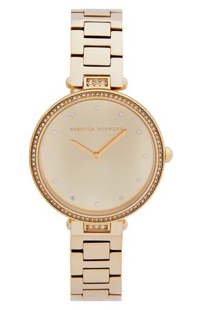 Rebecca Minkoff Nina Bracelet Watch, 33mm | Nordstrom