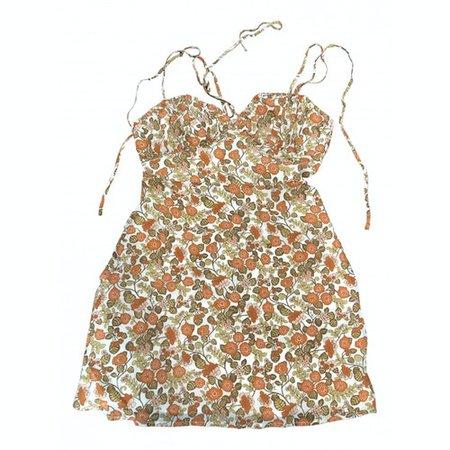 Devon silk mini dress Réalisation Multicolour size S International in Silk - 11765219