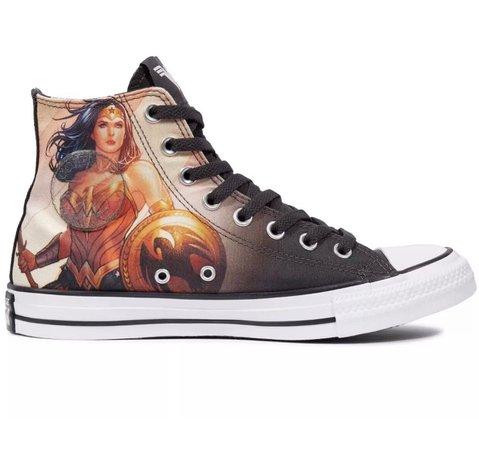Converse Chuck Taylor Wonder Woman DC 8 | Mercari