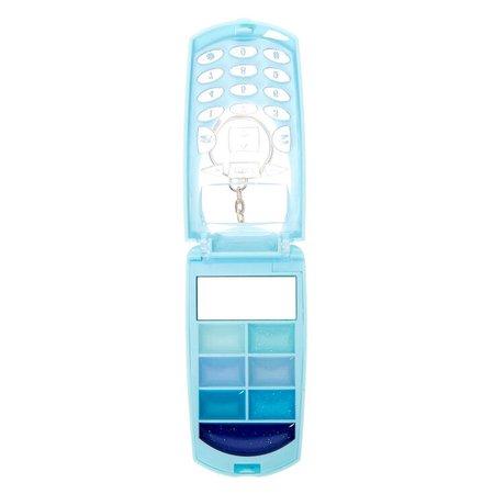 Snowflake Bling Flip Phone Lip Gloss Set - Blue   Claire's US