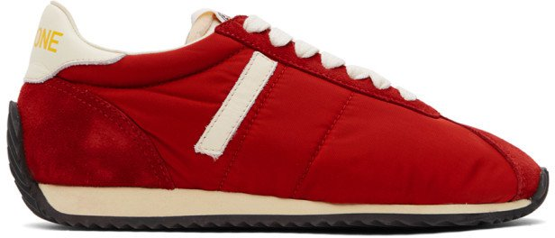 Red 70s Runner Sneakers