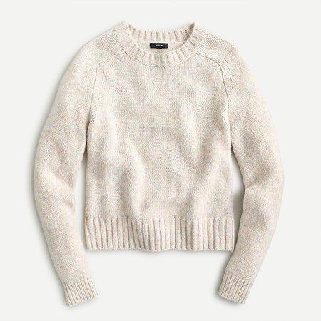 J.Crew: Alpaca-blend Crewneck Sweater For Women