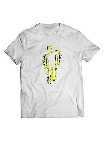 Billie Eilish Camo Metal Blohsh T-Shirt