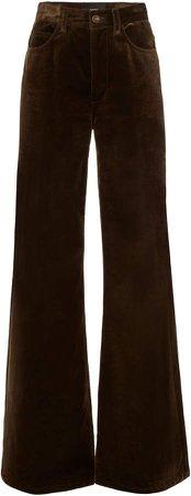 Marc Jacobs Velvet High-Rise Flared Jeans Size: 0