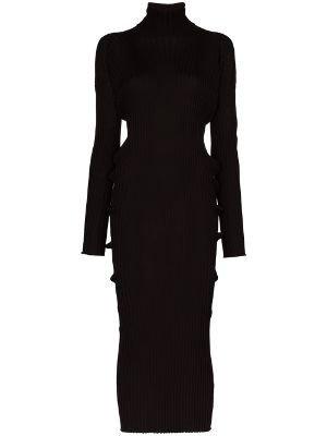 Bottega Veneta wool black dress