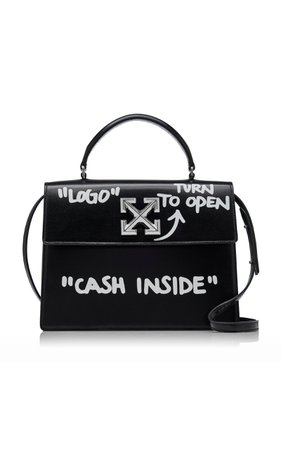 Jitney 2.8 Cash Inside Leather Bag by Off-White c/o Virgil Abloh | Moda Operandi