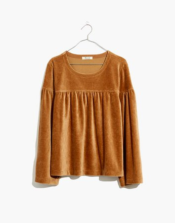 Texture & Thread Corduroy Swing Top