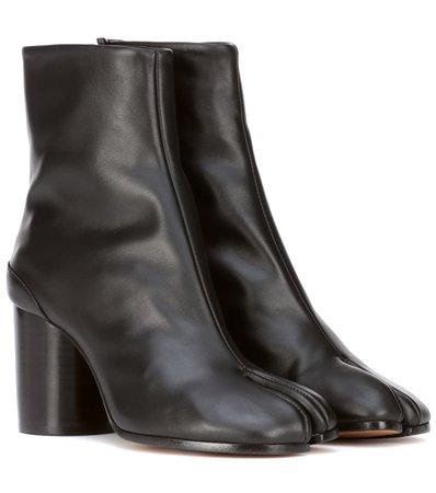 Tabi Leather Ankle Boots - Maison Margiela | mytheresa