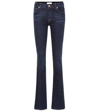 B(AIR) mid-rise bootcut jeans