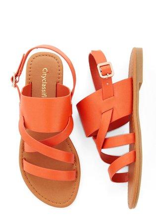 orange sandals - Google Search