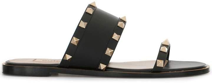 Garavani Rockstud flat sandals