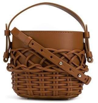 Nico Giani woven bucket bag