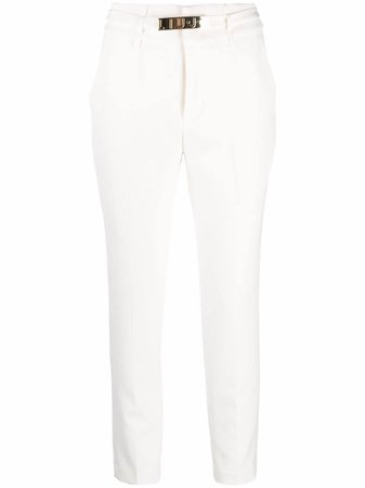 LIU JO Belted Skinny Trousers - Farfetch