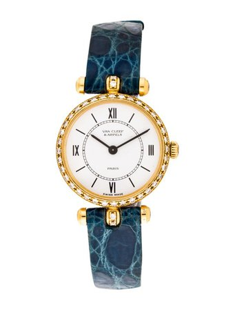 Van Cleef & Arpels Pierre Arpels Watch - Strap - VAC22560   The RealReal