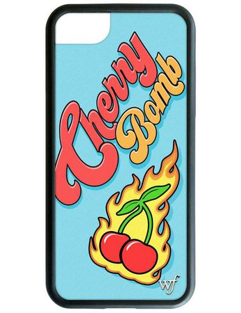 Niki DeMartino Cherry Bomb iPhone 7 Case – Wildflower Cases