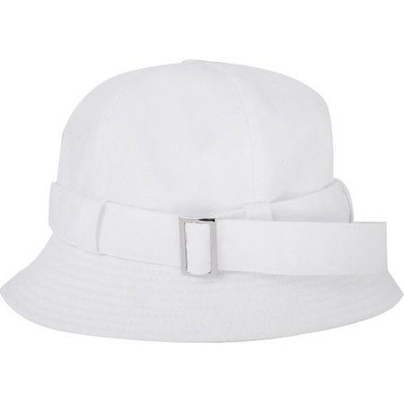 Buckled Strap Detail Bucket Hat