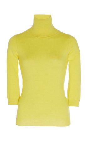 Apollo Cashmere Turtleneck Sweater by Madeleine Thompson | Moda Operandi